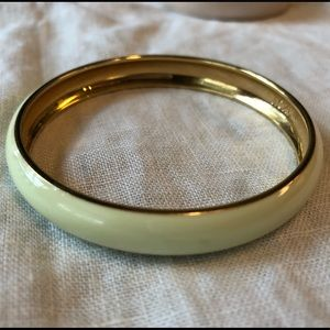 J. Crew Mint Enamel Bangle Bracelet